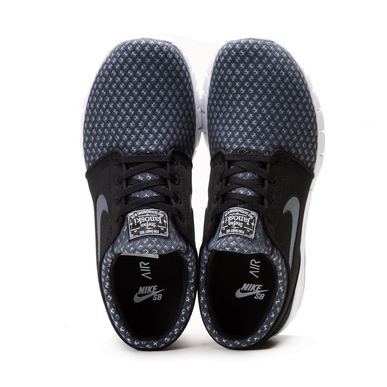 Nike Sb Stefan Janoski Max Grey Mesh