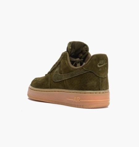 Nike Air Force 1 Suede Green